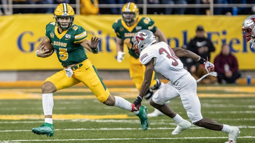 2020 FCS Jersey Countdown: 5 — The Best Player Who Wears No. 5 Is NDSU's Trey  Lance – HERO Sports News