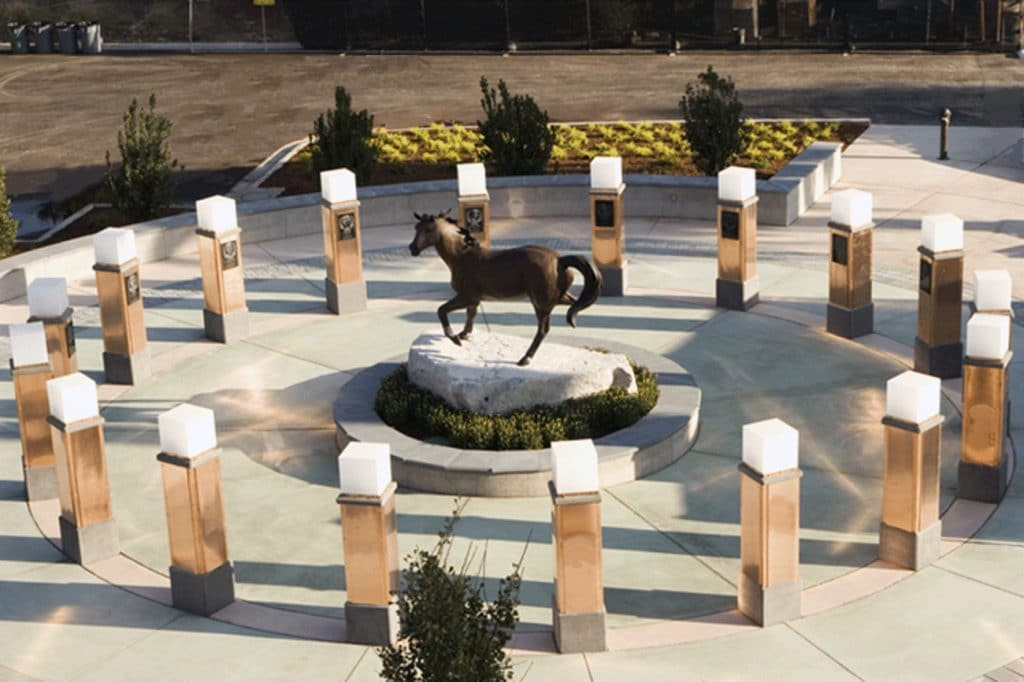 Cal Poly football memorial